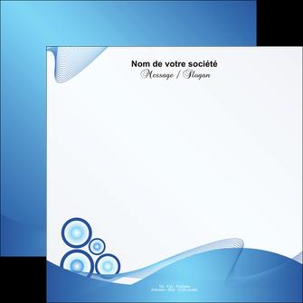 personnaliser modele de flyers agence immobiliere abstrait design texture MIF22111