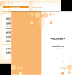 personnaliser modele de depliant 2 volets  4 pages  abstrait design texture MLGI22131