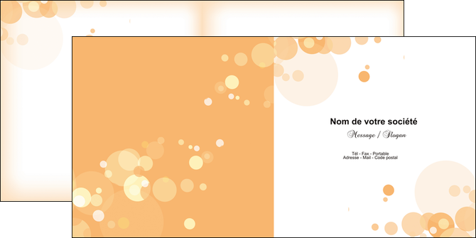 impression depliant 2 volets  4 pages  abstrait design texture MLGI22141