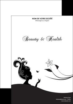 maquette en ligne a personnaliser flyers institut de beaute beaute soins detente MLGI22241