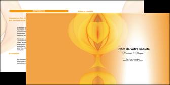 maquette en ligne a personnaliser depliant 2 volets  4 pages  abstrait texture contexture MLGI22299