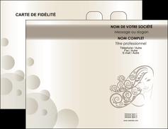 personnaliser modele de carte de visite institut de beaute beaute coiffure soin MLGI22673