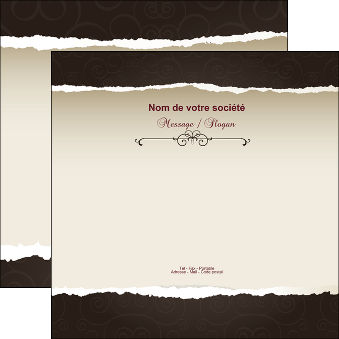 modele flyers texture contexture structure MLGI22805
