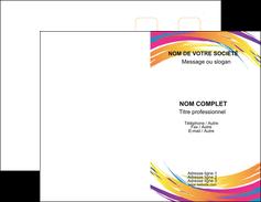 faire modele a imprimer carte de visite abstrait design texture MLIG22857