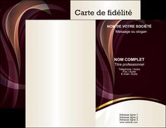 Commander papier impression carte de visite pelliculage  Carte commerciale de fidélité papier publicitaire et imprimerie Carte de visite Double - Portrait
