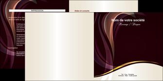 faire depliant 2 volets  4 pages  texture contexture abstrait MLIG23111