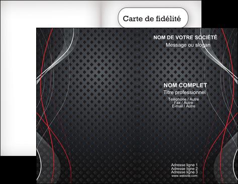 Creer Modele En Ligne Carte De Visite Contexture Abstrait Acier MLGI23135