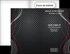 creer modele en ligne carte de visite contexture abstrait acier MIF23135