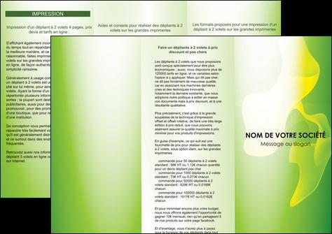 impression depliant 3 volets  6 pages  texture contexture structure MLGI23187