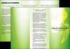 impression depliant 3 volets  6 pages  texture contexture structure MLIG23187