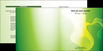 realiser depliant 2 volets  4 pages  texture contexture structure MLGI23207