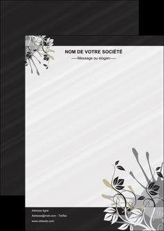 personnaliser maquette flyers fleuriste et jardinage fleurs fleuriste jardin MLGI23437