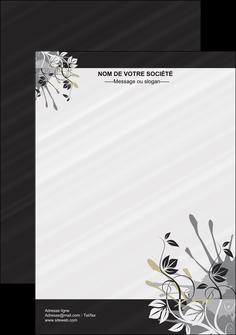 exemple flyers fleuriste et jardinage fleurs fleuriste jardin MLGI23451