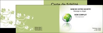 modele carte de visite paysage nature nature verte ecologie MLGI23555
