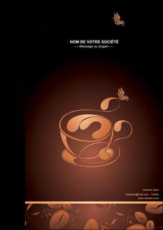 exemple flyers bar et cafe et pub cafe cafe noir cafe delices MLGI23587