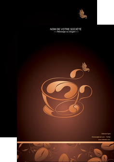 faire modele a imprimer affiche bar et cafe et pub cafe cafe noir cafe delices MLGI23589