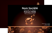 personnaliser maquette carte de visite bar et cafe et pub cafe cafe noir cafe delices MLIP23591