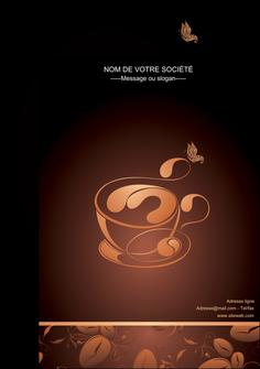 modele affiche bar et cafe et pub cafe cafe noir cafe delices MLGI23601