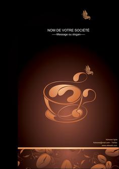 modele affiche bar et cafe et pub cafe cafe noir cafe delices MLGI23603