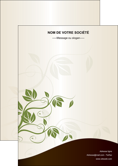 cree flyers fleuriste et jardinage feuilles feuilles vertes nature MLGI23611