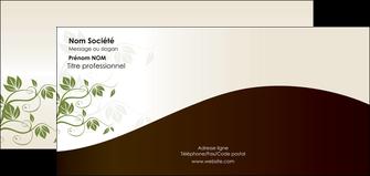 faire modele a imprimer carte de correspondance fleuriste et jardinage feuilles feuilles vertes nature MLGI23617