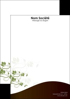 realiser tete de lettre fleuriste et jardinage feuilles feuilles vertes nature MLGI23619