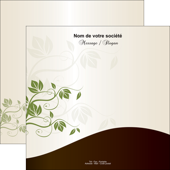 modele flyers fleuriste et jardinage feuilles feuilles vertes nature MLGI23629