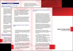 imprimer depliant 3 volets  6 pages  texture contexture structure MLGI24189