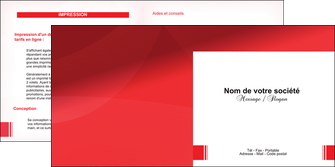 modele depliant 2 volets  4 pages  texture contexture structure MLGI24193
