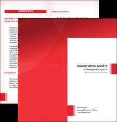 faire modele a imprimer depliant 2 volets  4 pages  texture contexture structure MLGI24201