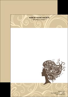 maquette en ligne a personnaliser flyers institut de beaute beaute coiffure soin MLGI24213