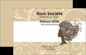 Impression impression vernis selectif cartes visite Institut de Beauté papier à prix discount et format Carte de Visite - Paysage