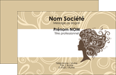 modele en ligne carte de visite salon de coiffure beaute coiffure soin MLGI24217
