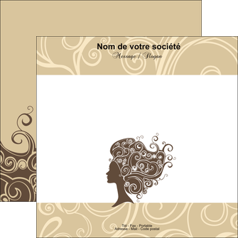 personnaliser maquette flyers institut de beaute beaute coiffure soin MLGI24221