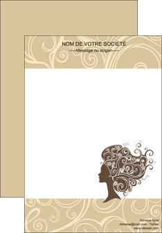 personnaliser modele de affiche institut de beaute beaute coiffure soin MLGI24223