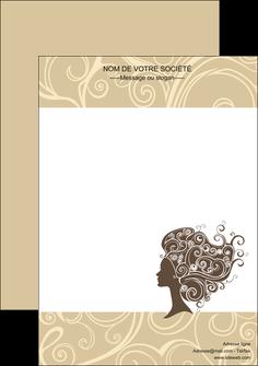 maquette en ligne a personnaliser affiche institut de beaute beaute coiffure soin MLGI24227