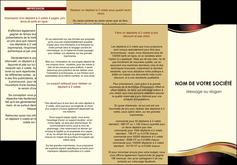 imprimer depliant 3 volets  6 pages  vin commerce et producteur vin vignoble bouteille de vin MLIG24289