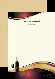 personnaliser modele de affiche vin commerce et producteur vin vignoble bouteille de vin MLIG24291