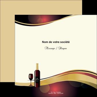 imprimer flyers vin commerce et producteur vin vignoble bouteille de vin MLIG24305