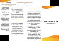 imprimer depliant 3 volets  6 pages  texture contexture structure MLGI24425