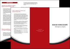 maquette en ligne a personnaliser depliant 3 volets  6 pages  structure contexture design simple MLGI24565