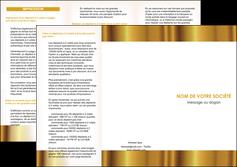 imprimer depliant 3 volets  6 pages  texture structure contexture MLGI24745