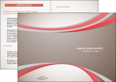creation graphique en ligne depliant 2 volets  4 pages  structure contexture design simple MLGI24817