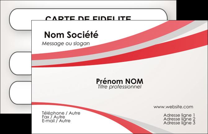 Modele Carte De Visite Structure Contexture Design Simple MLGI24825