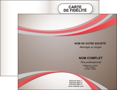 personnaliser maquette carte de visite structure contexture design simple MLGI24835