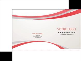 creer modele en ligne pochette a rabat structure contexture design simple MLGI24843