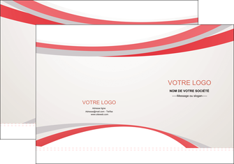 imprimer pochette a rabat structure contexture design simple MLGI24845