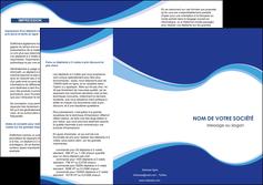 Impression depliant a2  papier à prix discount et format Dépliant 6 pages Pli roulé DL - Portrait (10x21cm lorsque fermé)
