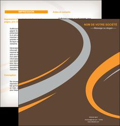 maquette en ligne a personnaliser depliant 2 volets  4 pages  texture contexture structure MLGI24935