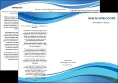 faire depliant 3 volets  6 pages  texture contexture structure MLGI25019